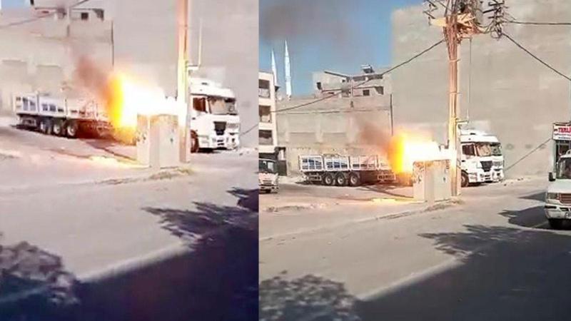 Şanlıurfa'da elektrik trafosu patladı