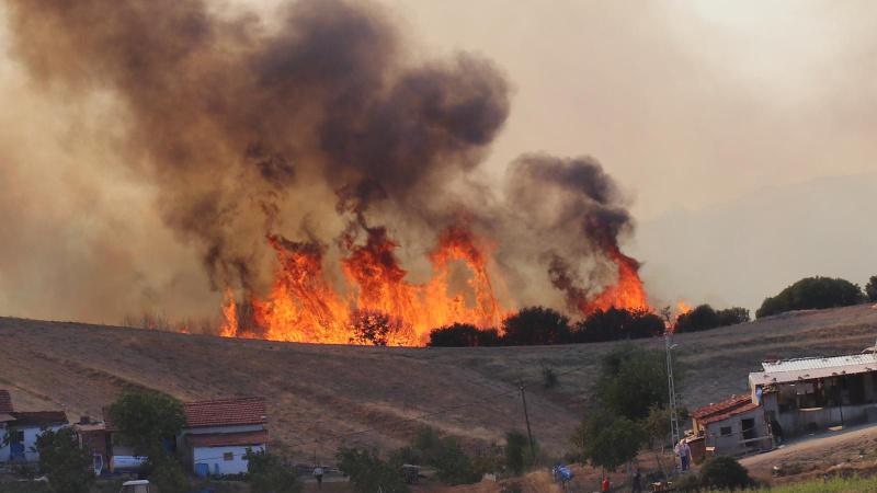 Denizli'deki yangın büyük oranda kontrol altına alındı