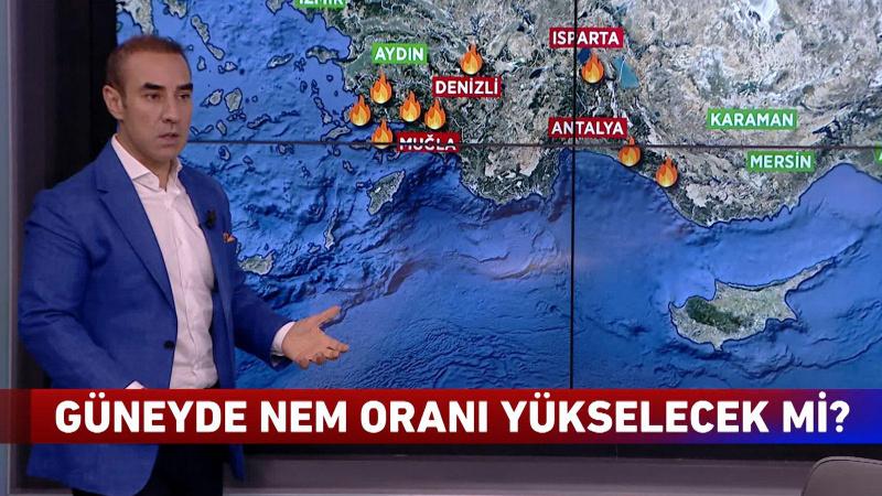 Yangın bölgesine yağmur yağacak mı?