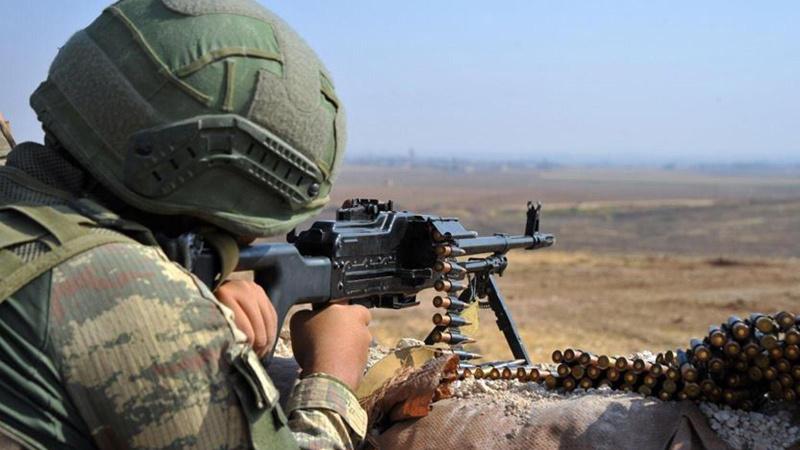 MSB: Irak'ın kuzeyinde 1 terörist etkisiz hale getirildi