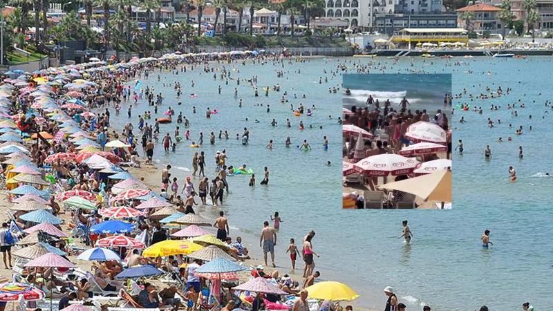 Suyun üzerinde hareketsiz duran kişiyi vatandaşlar fark etti