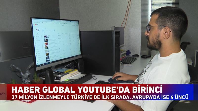 Haber Global Youtube Türkiye'de 1 numara