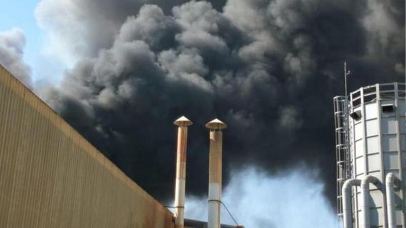 Çivi fabrikasında çıkan ikinci yangın da söndürüldü