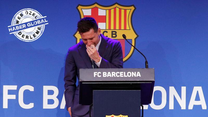 Messi, Barça'ya veda etti: 'Hiçbir şey anlamadım!'