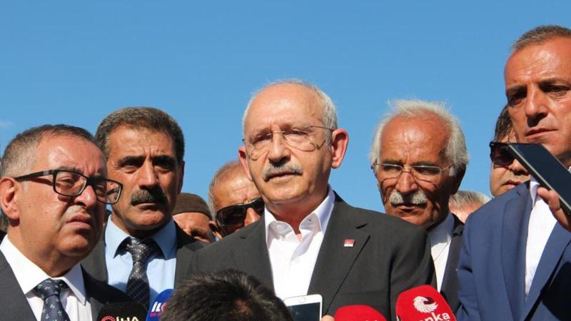 CHP Lideri Kılıçdaroğlu Van'daki sel bölgesinde