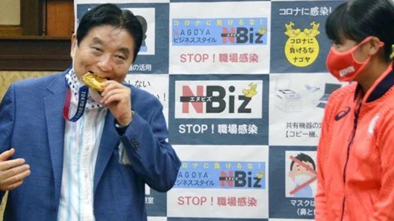 Japon oyuncunun olimpiyat madalyası değiştirilecek