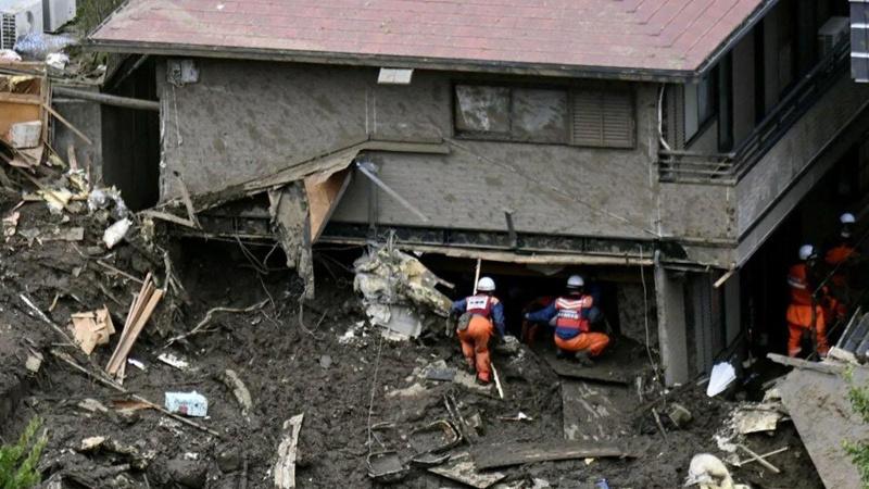 Japonya'da aşırı yağışlarda bir kişi hayatını kaybetti