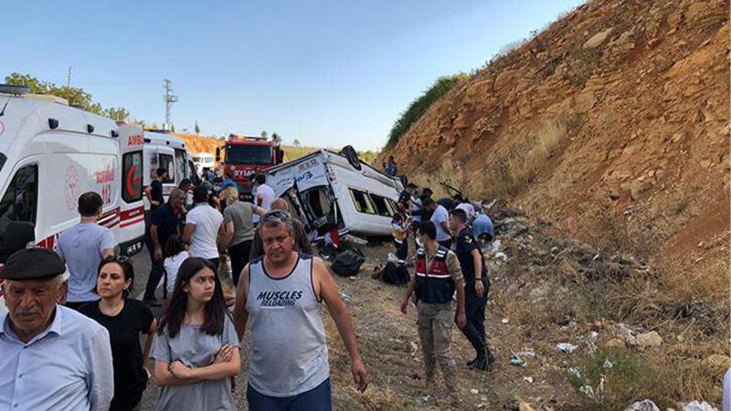 Kahramanmaraş'ta feci kaza: 10 yaralı