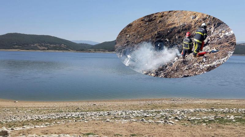Kahramanmaraş'ta düşen uçakla ilgili iddia