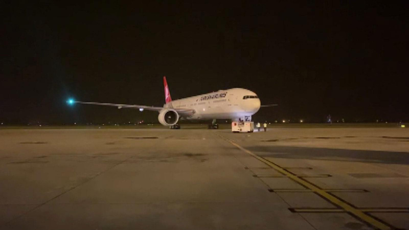 271 yolcu daha Türkiye'ye getirildi!