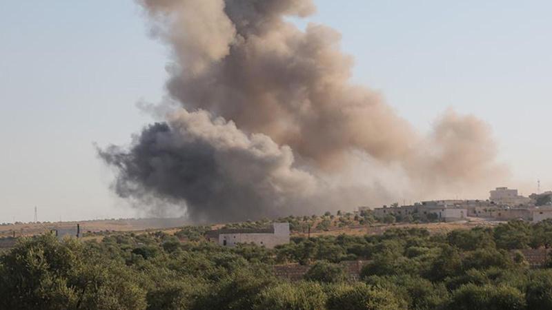 İsrail'in hava saldırısına Suriye'den cevap