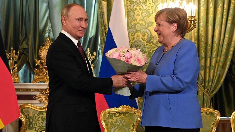 Son kez görüşen Putin ile Merkel'den ilk açıklama