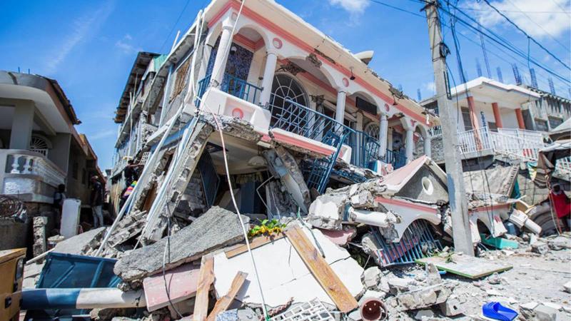 Türkiye'den Haiti'ye yardım eli!