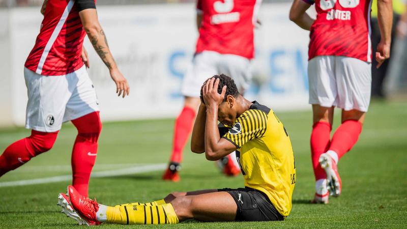 Dortmund, Freiburg deplasmanından çıkamadı