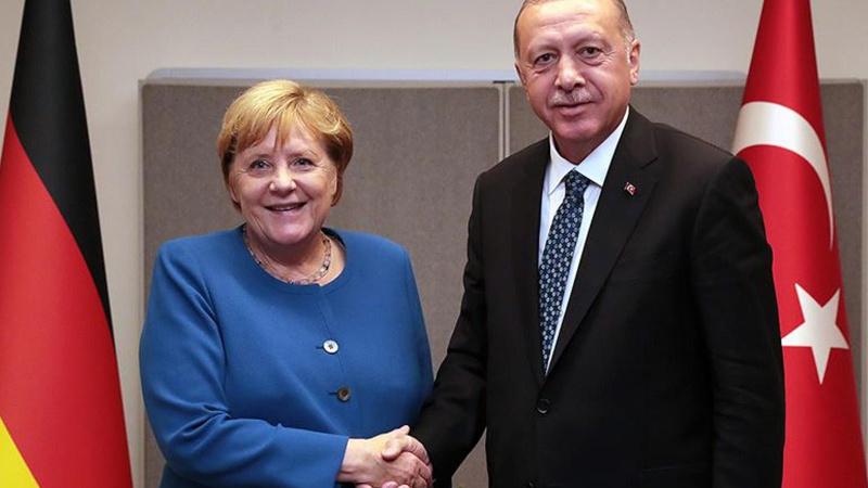 Cumhurbaşkanı Erdoğan ve Merkel Afganistan'ı görüştü