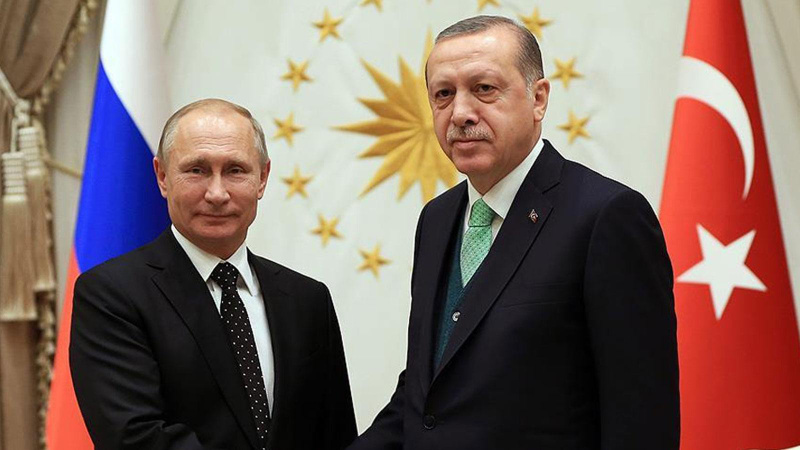 Erdoğan ve Putin'den Afganistan görüşmesi