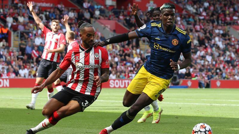 Manchester United, Southampton'a takıldı