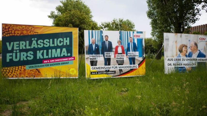 Almanya'da bir ilk! Merkel'in partisi...