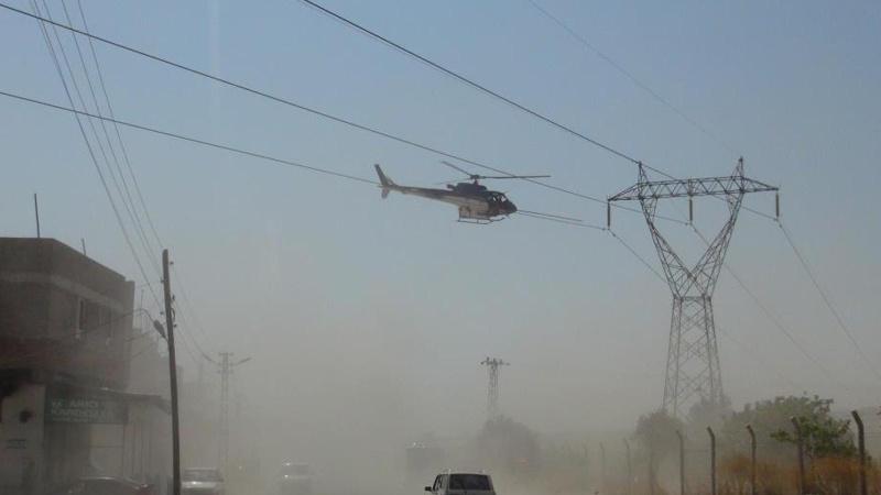 'Helikopter tellere takıldı' paniği