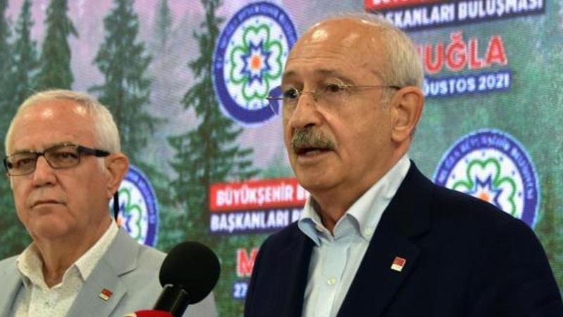 CHP Lideri Kılıçdaroğlu yangın mağdurlarına söz verdi