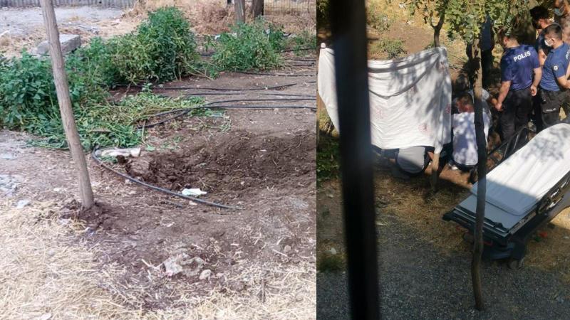 Elektrik çarpan kadını toprağa gömdüler