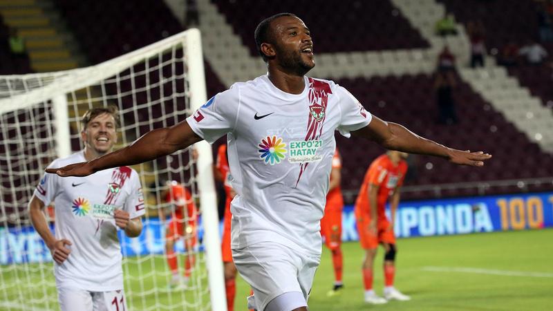Hatayspor, Alanyaspor'u 5 golle uğurladı
