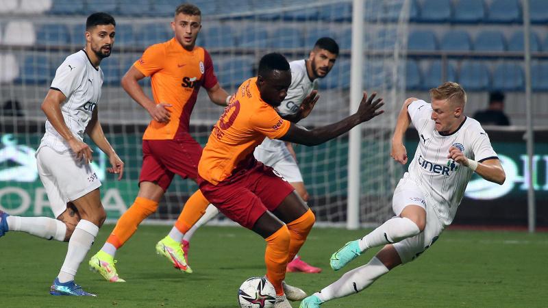 Galatasaray, Kasımpaşa'da skoru koruyamadı
