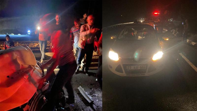 Mardin'de feci kaza: 13 yaralı