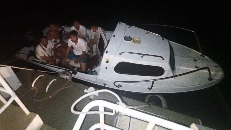 Tekneyle kaçarken yakalanan FETÖ'cüler tutuklandı