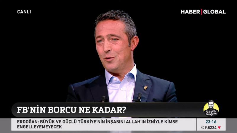 Ali Koç'tan Sergen Yalçın açıklaması