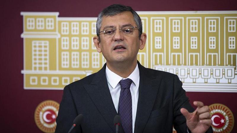 CHP'li Özel'den 'yeni anayasa' açıklaması
