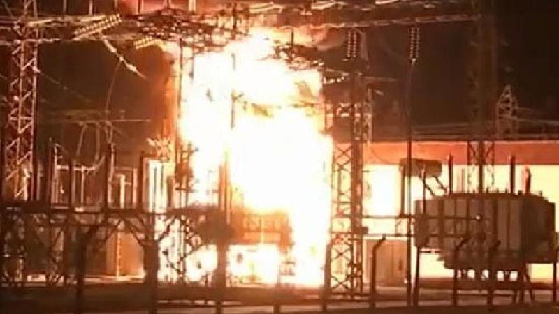 Trafo merkezinde korkutan yangın