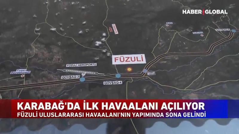 Karabağ'da ilk havaalanı açılıyor