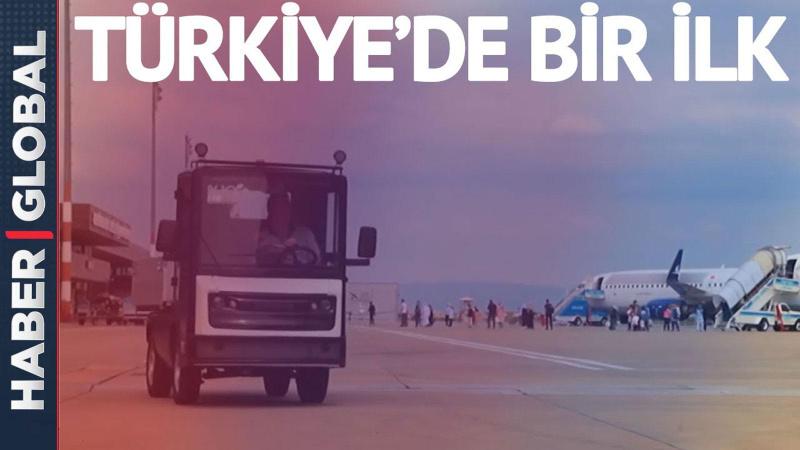 Türkiye'de bir ilk! Hem sürücüsüz hem elektrikli