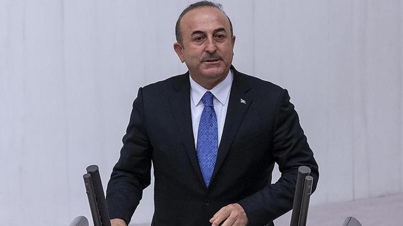 Bakan Çavuşoğlu SUKO Başkanı Al-Meslet ile görüştü