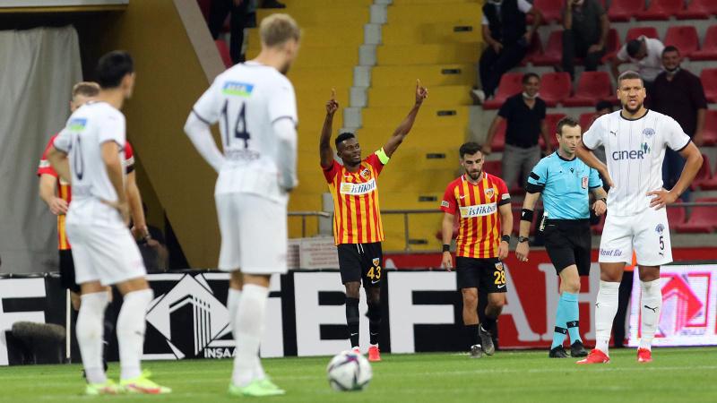 Kayserispor, Kasımpaşa'yı 2-0 mağlup etti