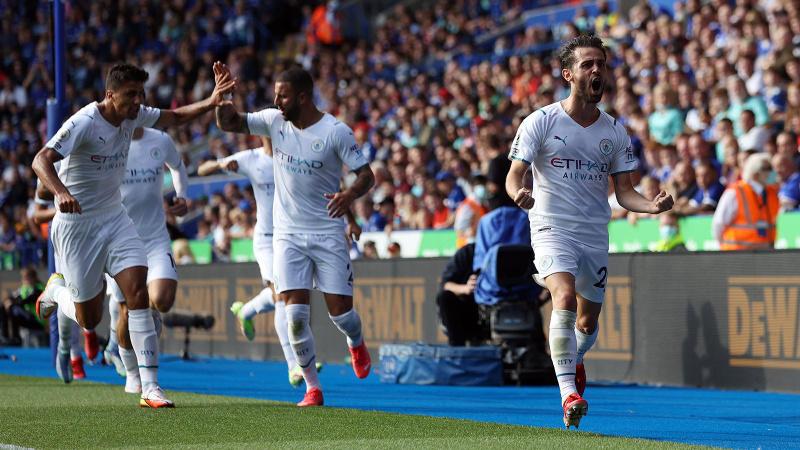 Manchester City, Leicester deplasmanında tek golle kazandı