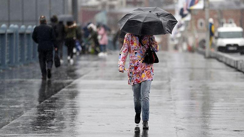 Meteoroloji'den 12 il için yağış alarmı!