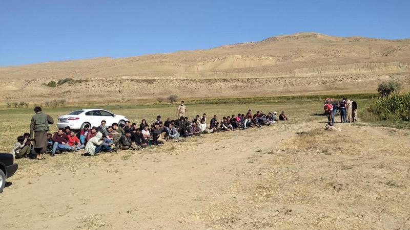 Van'da 71 kaçak göçmen ve 2 organizatör yakalandı