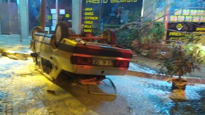 Balıkesir'de feci kaza!