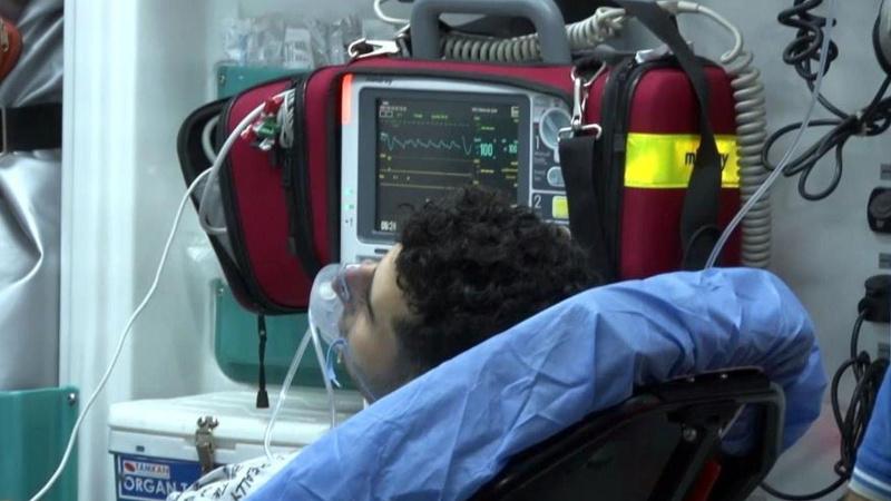 İBB havuzunda klor gazı sızıntısı! 5 kişi hastanelik oldu