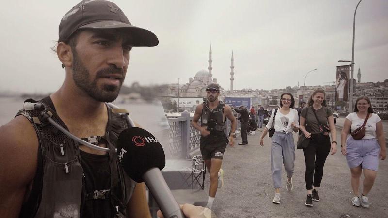 45 günde Almanya'dan Türkiye'ye 2250 kilometre koştu