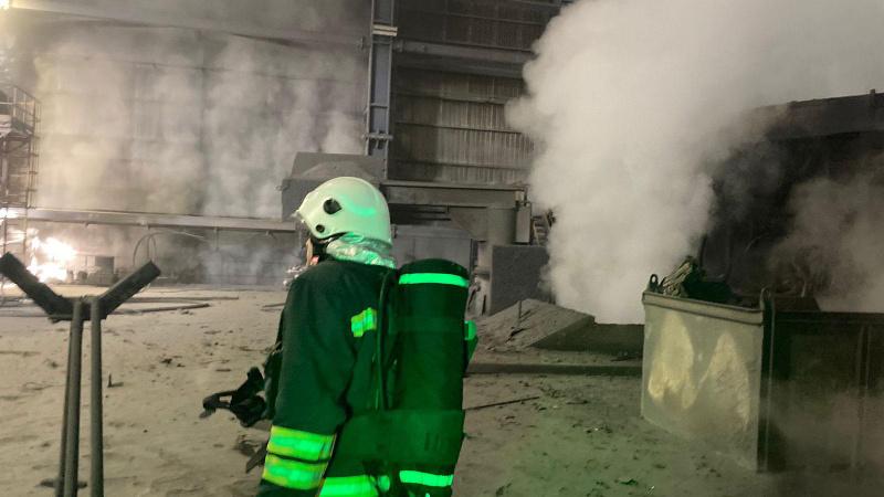 Demir-çelik fabrikasında patlama: 5 işçi yaralı