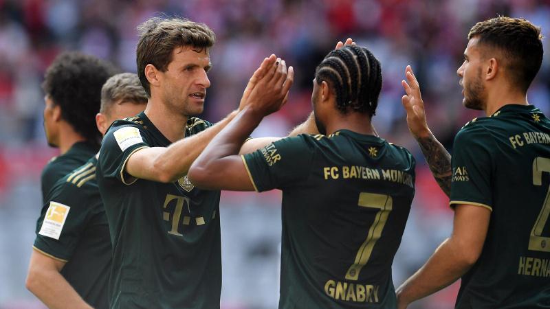 Bayern Münih, Bochum'u '7' bitirdi!