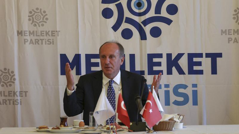 Muharrem İnce partisinin genel başkanı seçildi