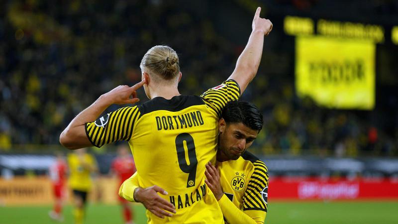 Haaland yıldızlaştı, Dortmund dörtledi!