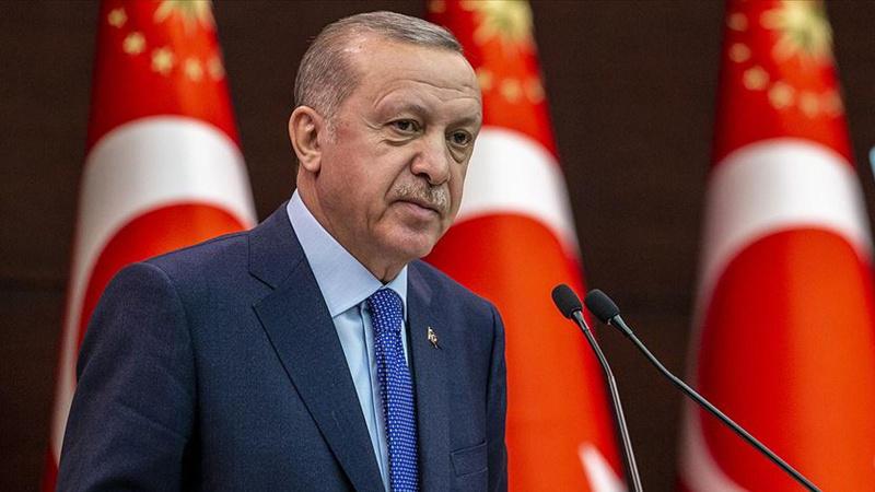 Cumhurbaşkanı Erdoğan TÜRKEN Vakfı heyeti kabulünde konuştu