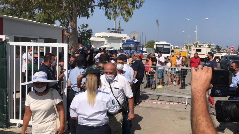 KKTC'de Kapalı Maraş'ın bir kısmı açıldı