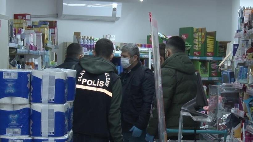Kadıköy'de silahlı market soygunu! 4 bin lira çaldılar