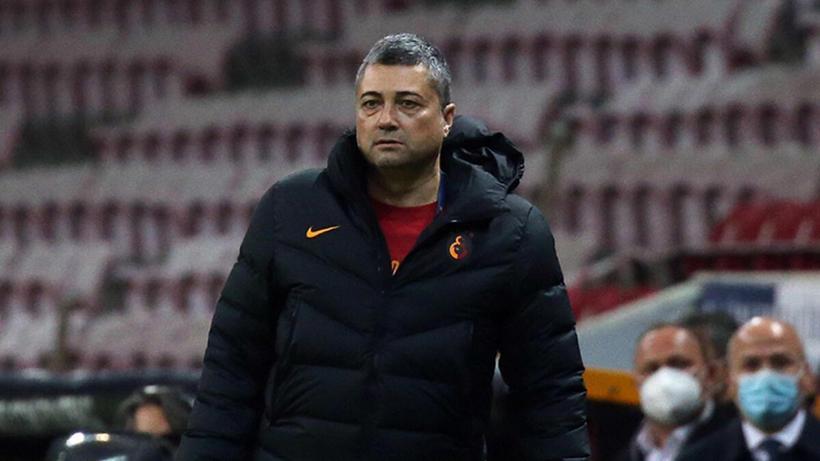 """Galatasaray Yardımcı Antrenörü Levent Şahin: """"Bu maçı Omar için kazanmalıydık. Beceremedik, çok üzgünüz"""""""